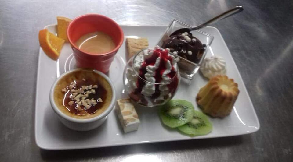 Café gourmand du restaurant La Petite Marmite à Gap