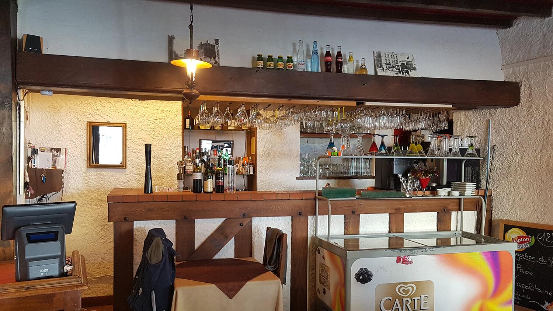 Bar du restaurant à Gap