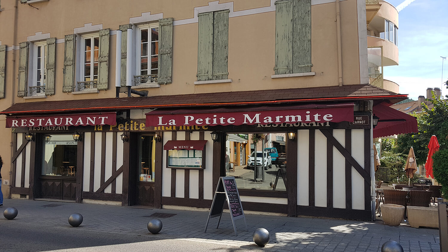 Restaurant traditionnel la Petite Marmite à Gap