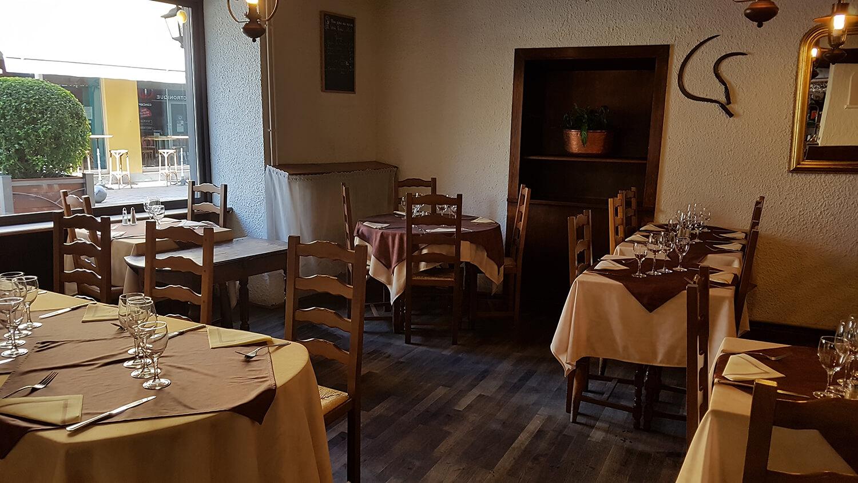 Salle du restaurant traditionnel